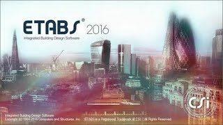 phần mềm etabs 2016