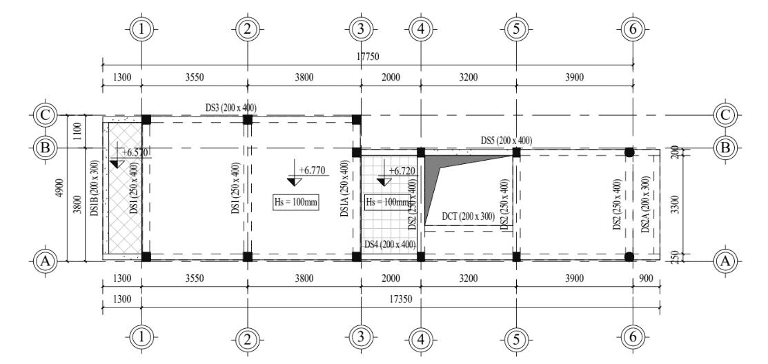 HỒ SƠ KẾT CẤU NHÀ PHỐ Hồ sơ kết cấu nhà phố 3 tầng2