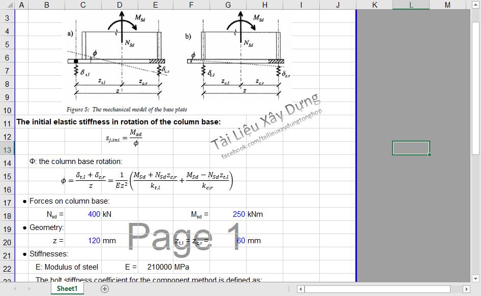 Đánh giá liên kết bản đế chân cốt thép nh giá liên kết bản thép