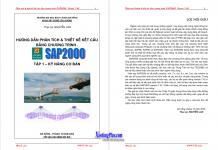 Ứng dụng sap2000 cho thiết kế kết cấu