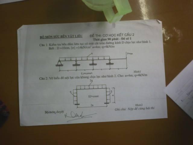 Đề thi môn học Cơ học kết cấu 2 1011054 466984043429704 1707961504 n