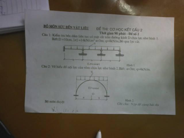 Đề thi môn học Cơ học kết cấu 2 1619445 466984086763033 1432861094 n