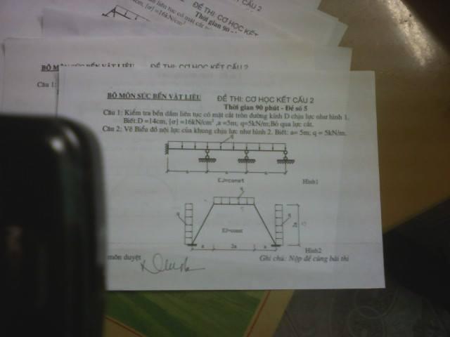 Đề thi môn học Cơ học kết cấu 2 1689188 466984183429690 700240357 n