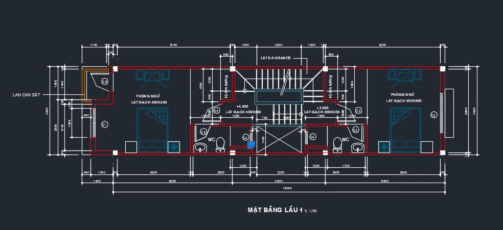 Mẫu nhà phố 4 tầng 60m2 ở Long Biên 2018 04 10 20h27 20
