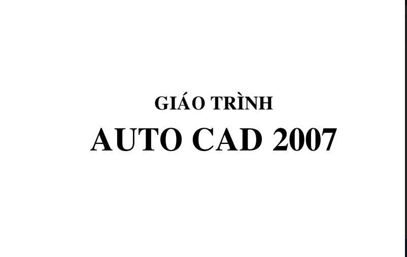 Giáo trình học AutoCad 2007 2018 04 10 23h41 24