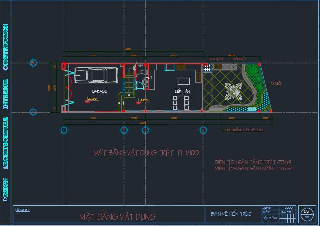 Hồ sơ bản vẽ nhà dân 3 tầng - bản vẽ chi tiết 2018 04 14 14h23 31