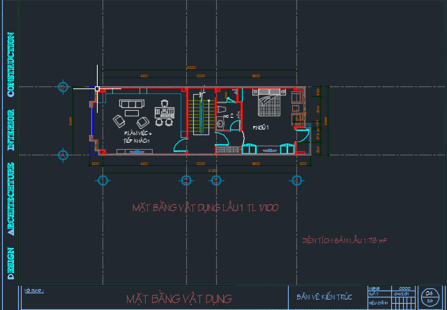 Hồ sơ bản vẽ nhà dân 3 tầng - bản vẽ chi tiết 2018 04 14 14h23 47