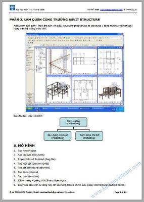 Sách tự học Revit Architecture 5 giao trinh hoc revit structure
