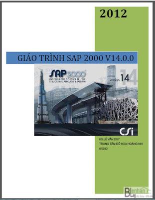 Giáo trình học Sap2000 v14 (KS.Lê Văn Duy) giao trinh sap2000 v14