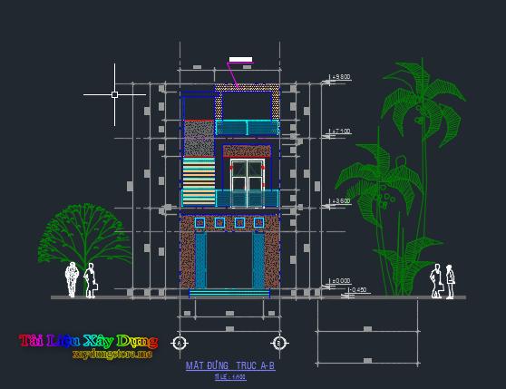 Mẫu nhà phố 2 tầng 12x5m screenshot 01 2