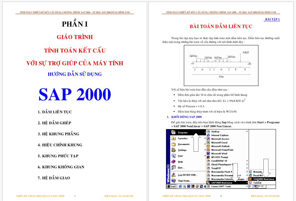 Hướng dẫn sử dụng sap2000 screenshot 04