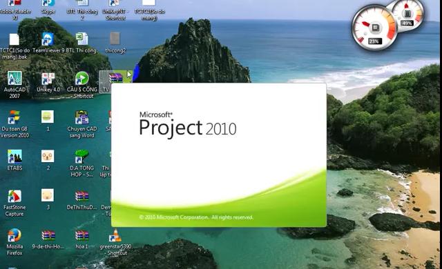 Hướng dẫn Project làm đồ án tổ chức thi công