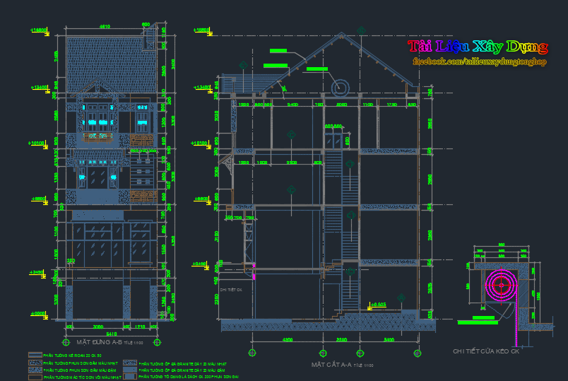 Thiết kế kiến trúc nhà dân 5 tầng thiết kế kiến trúc nhà dân 5 tầng