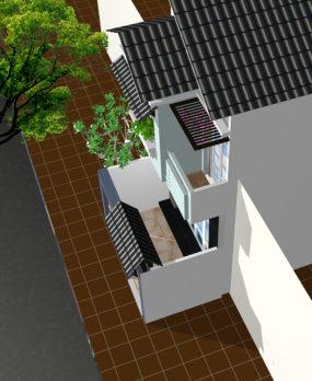 Mẫu Nhà Phố 2 tầng (80m2) v4 e1522989831511