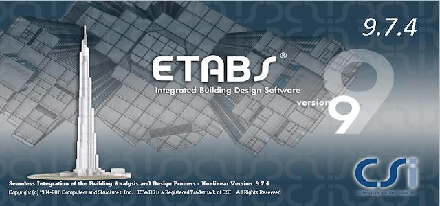 Download etabs 9.7.4 đầy đủ crack 1