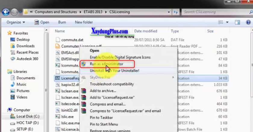 Download Etabs 2013 full crack và hướng dẫn cài đặt chi tiết download etabs 2013 full crack10