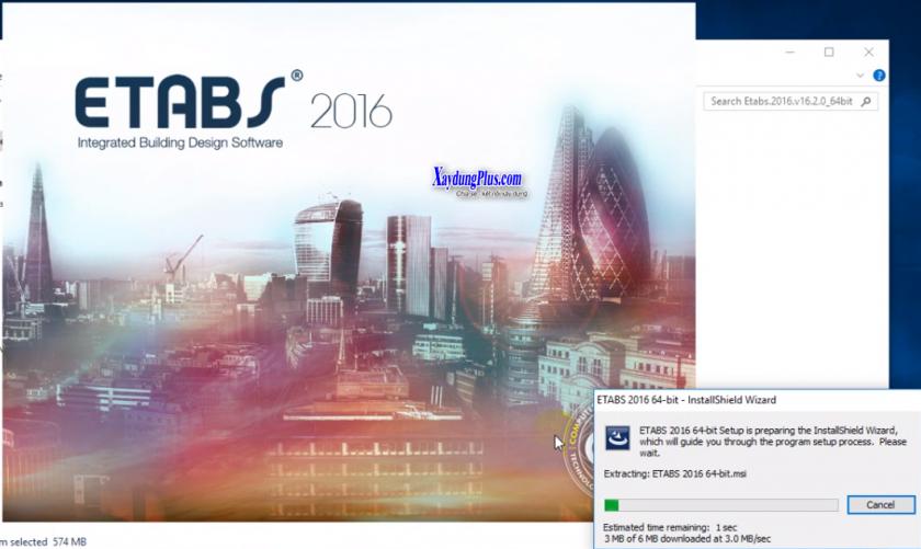 Download Etabs 2016 full và hướng dẫn cài đặt chi tiết