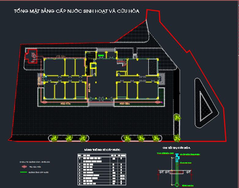 hồ sơ thiết kế nhà 7 tầng full