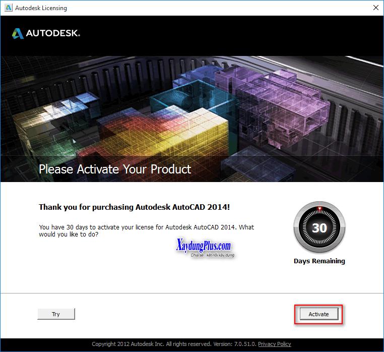 Hướng dẫn crack một số phần mềm huong dan cai dat autocad 2014 10