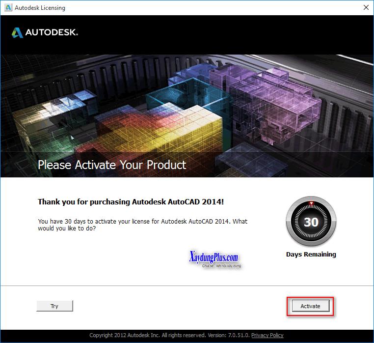 Hướng dẫn crack một số phần mềm huong dan cai dat autocad 2014 8