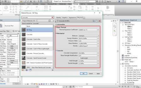 Quản lý vật liệu trong Revit quản lý vật liệu trong revit7