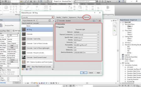 Quản lý vật liệu trong Revit quản lý vật liệu trong revit8