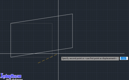 Sử dụng lệnh Stretch trong AutoCad (lệnh co dãn đối tượng) su dung lenh stretch trong autucad4