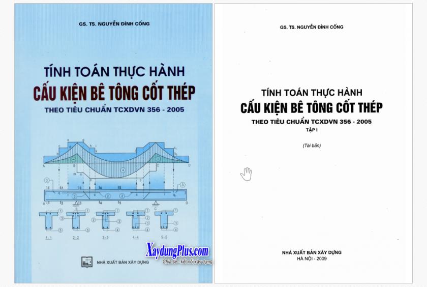 01. Tính toán thực hành cấu kiện BTCT Tap 1 - GS Nguyen Dinh Cong