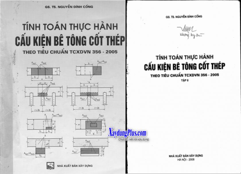 Tính toán thực hành cấu kiện BTCT (Tập 2) - GS Nguyễn Đình Cống