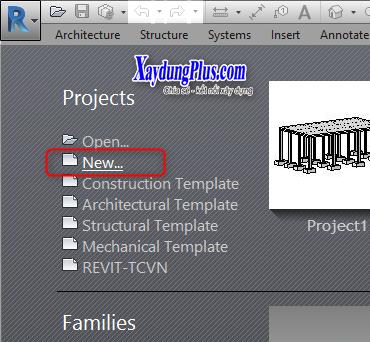 Bài 2: Thiết lập template mặc định khi mở file mới trong Revit thiết lập template mặc đinh khi mở file4