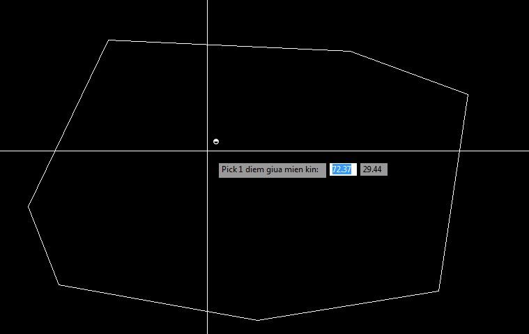 Lisp xuất tọa độ đỉnh hình khép kín trong AutoCad