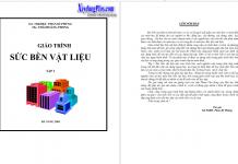 Giáo trình sức bền vật liệu - Gs.TS.Phan Kỳ Phùng