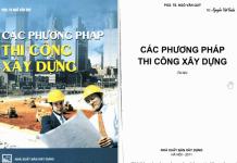 Các phương pháp thi công xây dựng - Ngô Văn Quý