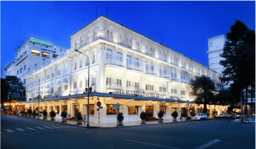 Hồ sơ thiết kế cơ sở khách sạn Continental