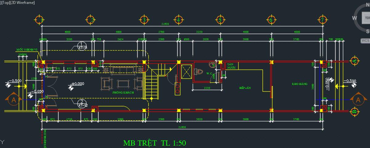 Hồ sơ thiết kế nhà phố 5 tầng