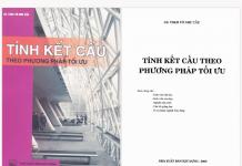 Tính kết cấu theo phương pháp tối ưu - Gs.ts.võ Như Cầu, 182 Trang