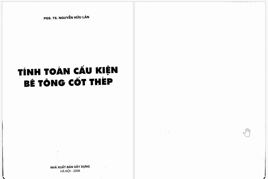 Tính toán cấu kiện bê tông cốt thép - Nguyễn Hữu Lân