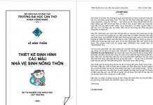 Thiết Kế Định Hình Các Mẫu Nhà Vệ Sinh Nông Thôn - Lê Anh Tuấn