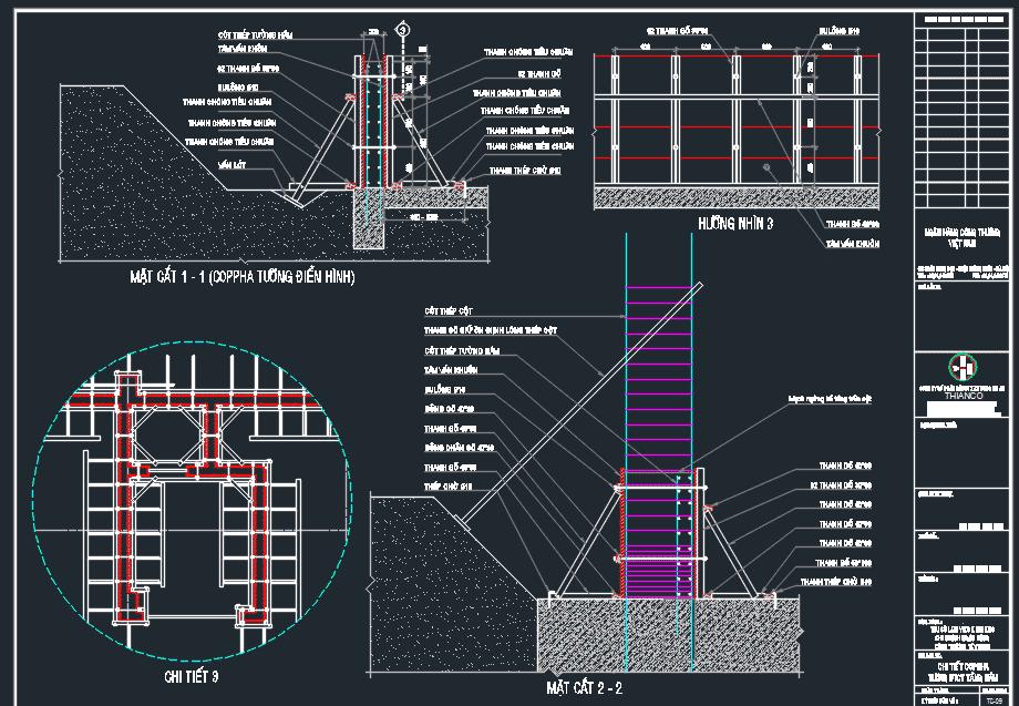 Biện pháp thi công tổng hợp cao tầng