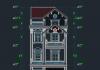 Mẫu nhà phố 5 tầng full