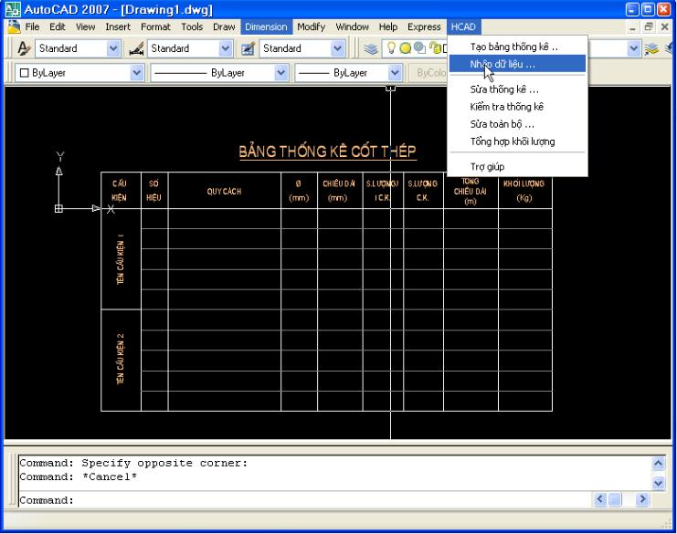 Phần mềm thống kê HACD