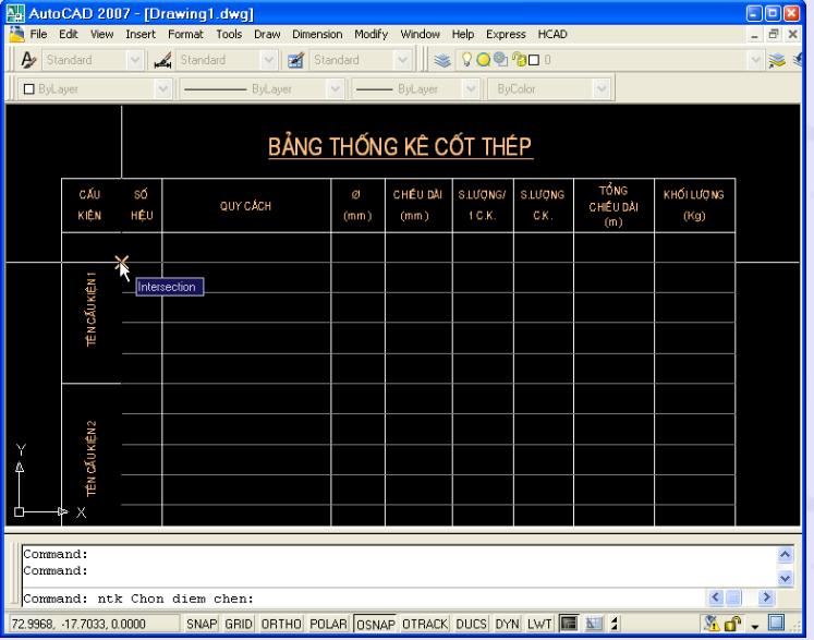 Phần mềm thống kê cốt thép HCAD trong AutoCAD Pham mem thong ke HACD6