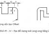 Tạo đối tượng song song trong AutoCad - Lệnh OFFSET