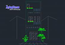 Hồ sơ mẫu nhà phố 3 tầng 4x13m