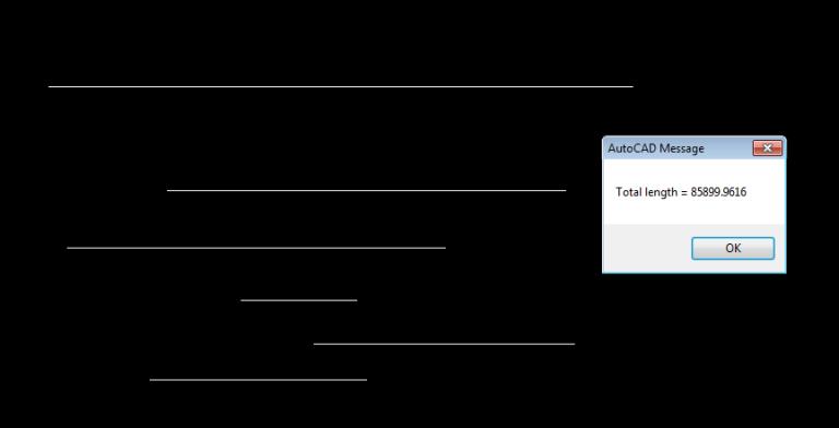 Chia sẻ Lisp đo tổng chiều dài các đoạn thẳng trong AutoCAD