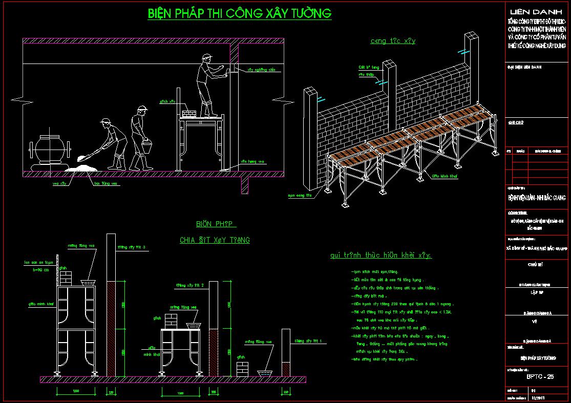 Biện pháp thi công nhà cao tầng (Bệnh viện nhi Bắc Giang)