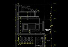Hồ sơ biết thự phố 3 tầng 8x17m