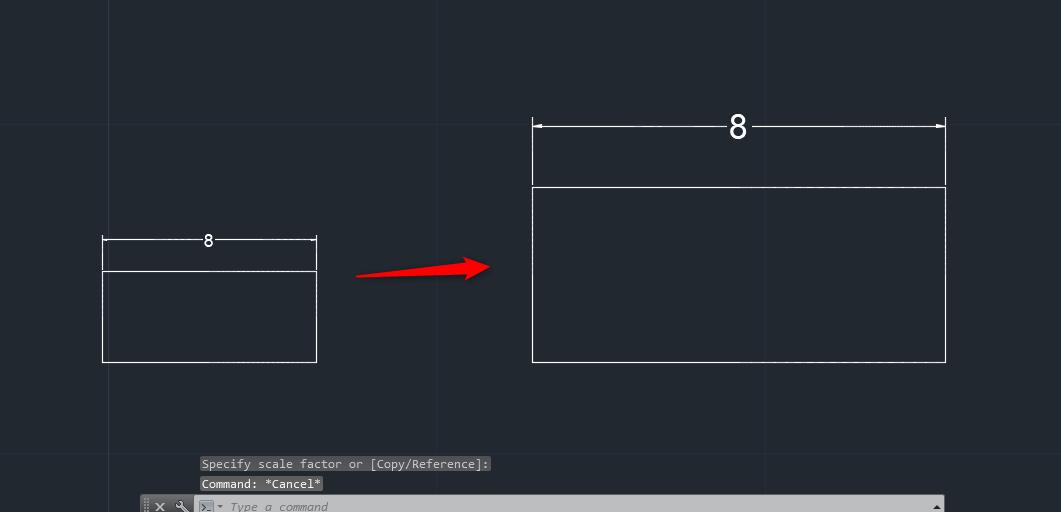 Mẹo giữ nguyên kích thước khi scale trong Autocad Mẹo giữ nguyên kích thước khi scale trong Autocad2