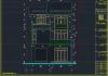Mẫu biệt thự phố 3 tầng đẹp