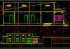 Hồ sơ bản vẽ nhà cấp 4 đẹp 7x18m